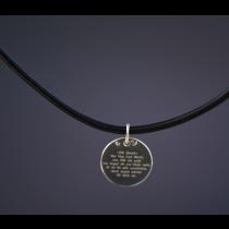 Halskette Lederband 3mm