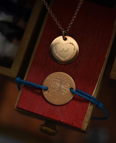 Armband mit Schutzengel